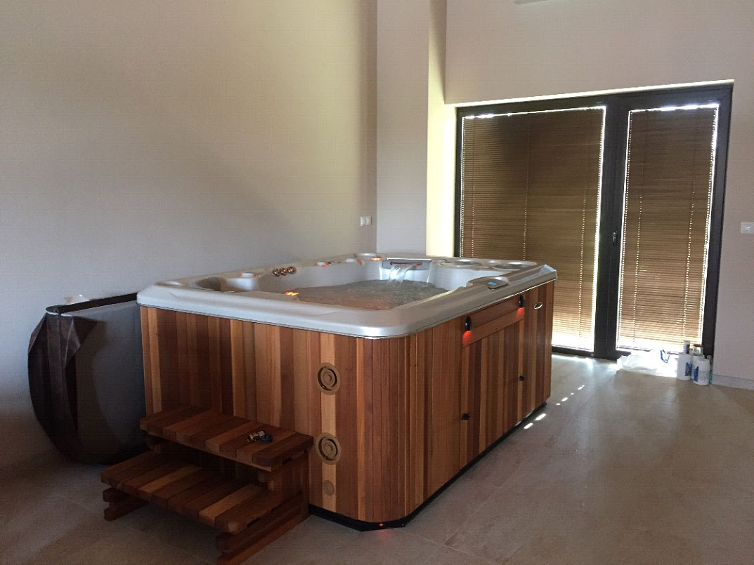 Hydropool spas - Reference Ostratice