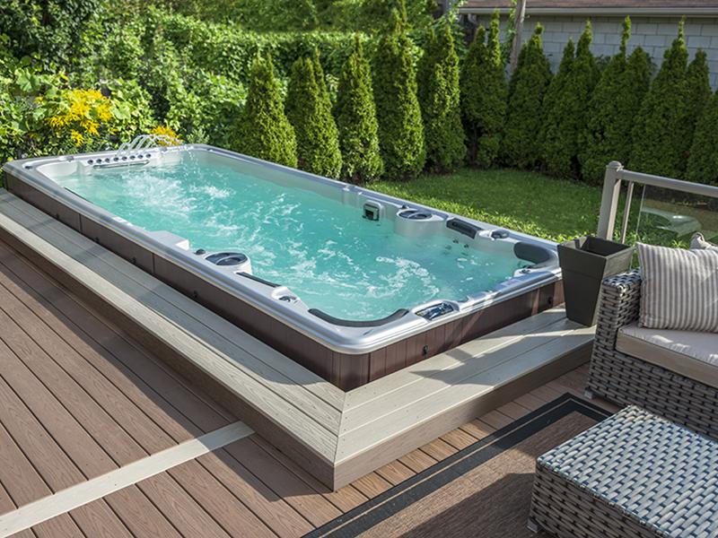 Swim spa - bazén a vířivka v jednom